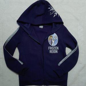 👧Disney Frozen II Fleece Hooded Jacket